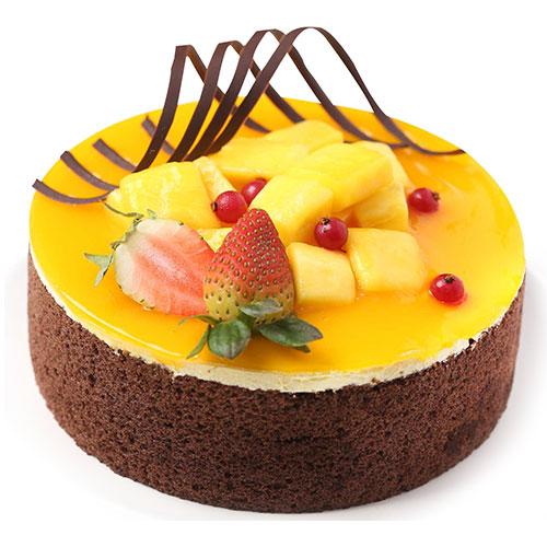 Earl Grey Mango Mousse