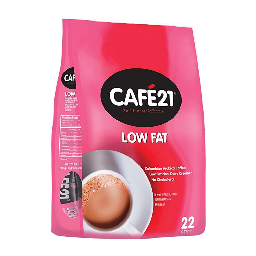 Cafe 21 Low Fat 2in1 Instant Coffeemix