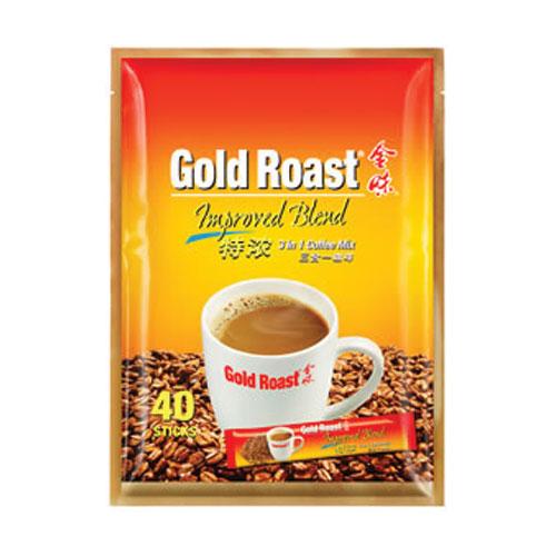 Gold Roast Improved Blend 3 in 1 Coffeemix