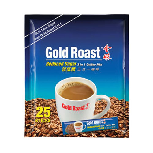 Gold Roast Reduced Sugar 3 in 1 Coffeemix