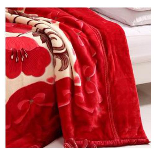 Polyester raschel blanket