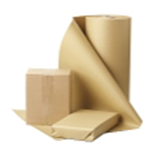 High Capacity Brown Kraftliner Packing Paper