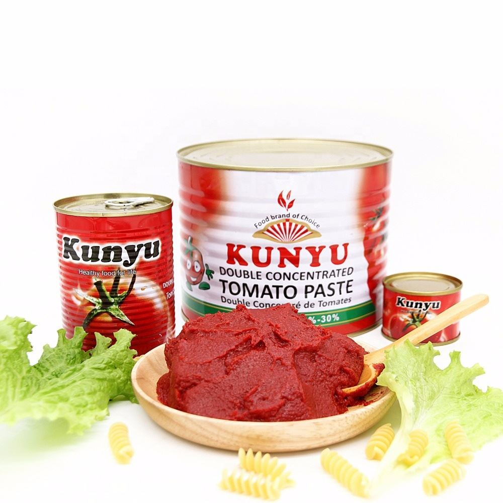 Double concentrated tomato paste 70g, 3kg 2200g,4.5kg