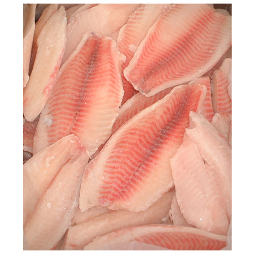 Whole round frozen tilapia