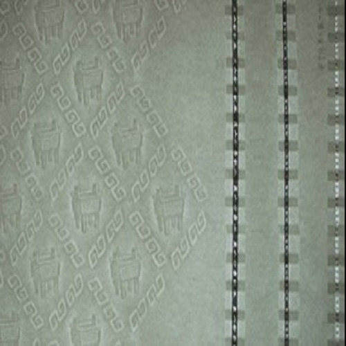 Security Watermark Paper with Thread