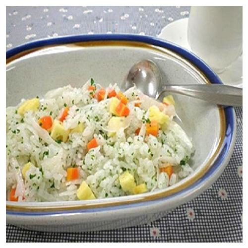 "Rice Salad Of ""Moist Cheese Egg"""