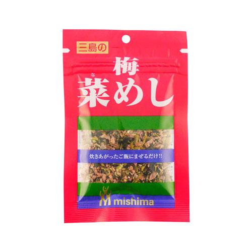 Mishima Nameshi Plum and Greens Rice Seasoning