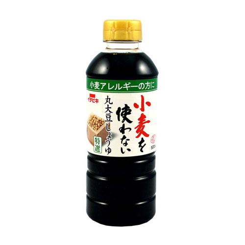 Ichibiki Wheat Free Marudaizu Soy Sauce, 500 ml