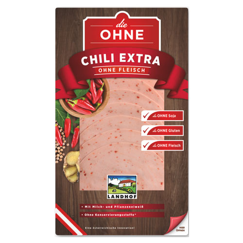 CHILLI EXTRAWURST without meat
