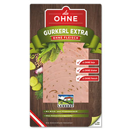 CUCUMBER EXTRAWURST without meat