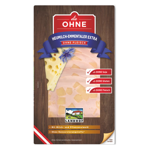 EMMENTAL CHEESE EXTRAWURST without meat