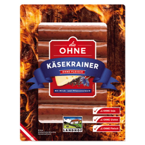 KÄSEKRAINER without meat