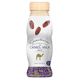 Flavored Camel Milk: Date