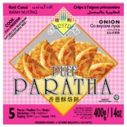 Puff Paratha (onion)