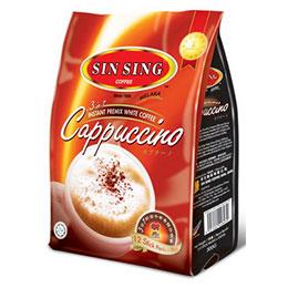 WHITE COFFEE CAPPUCCINO 3 IN 1