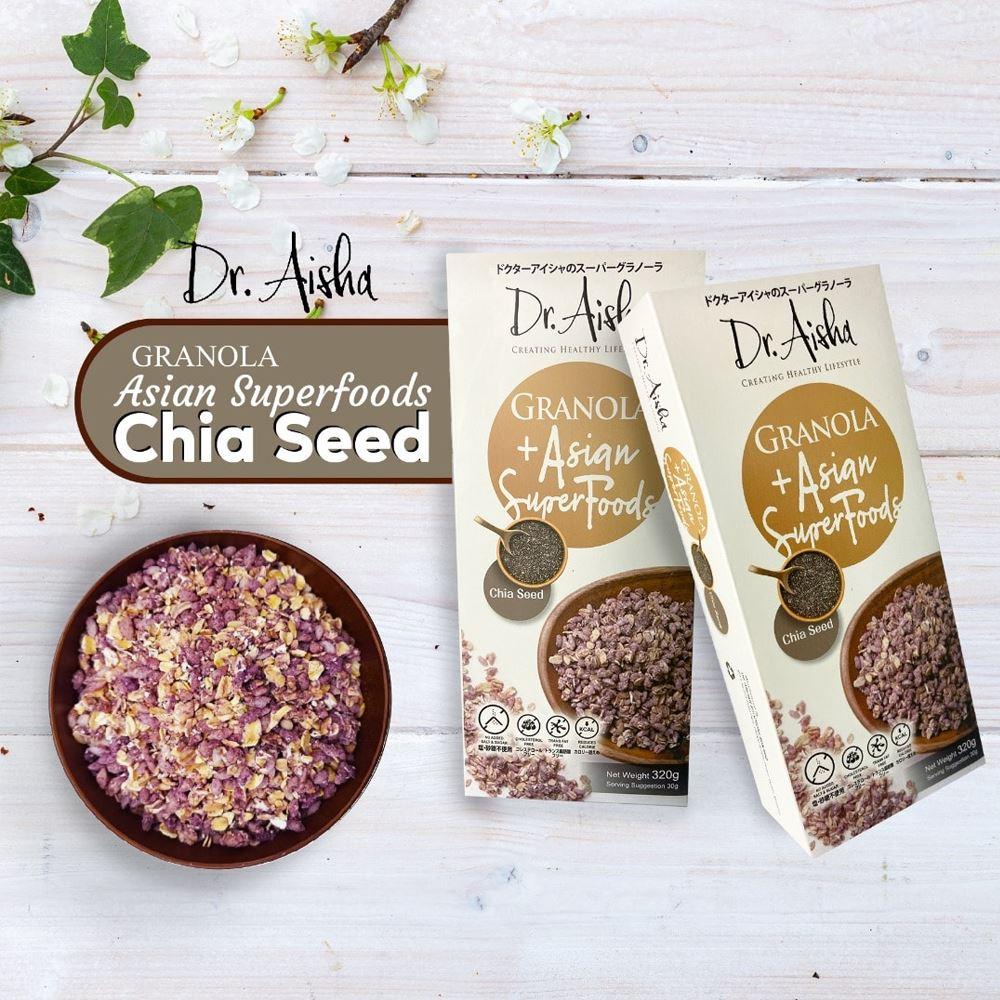 Dr Aisha Granola Chia Seeds