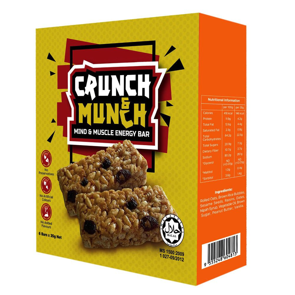 DASTO Crunch & Munch Bar