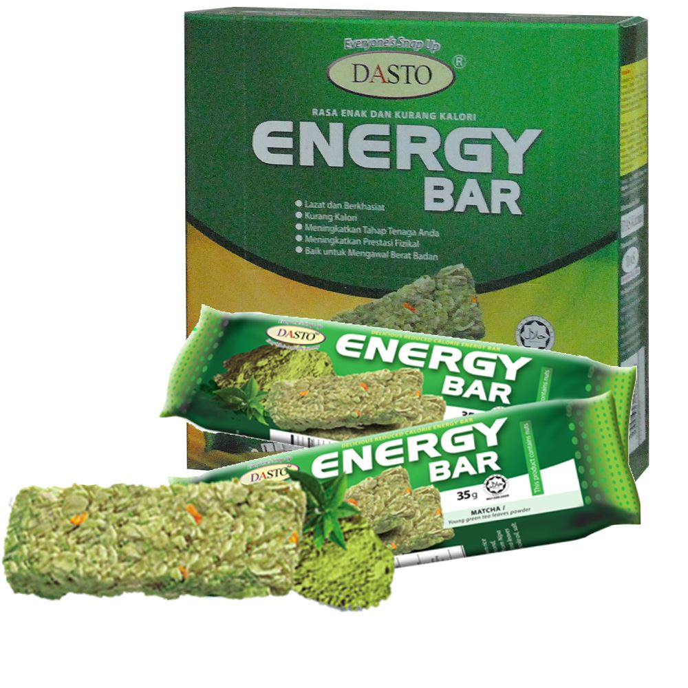 DASTO Energy Bar Matcha