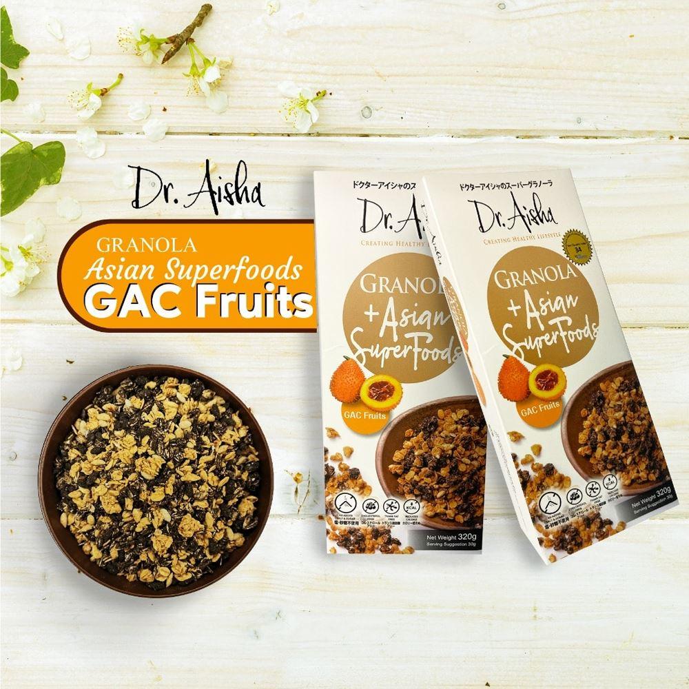 Dr Aisha Granola Gac Fruit