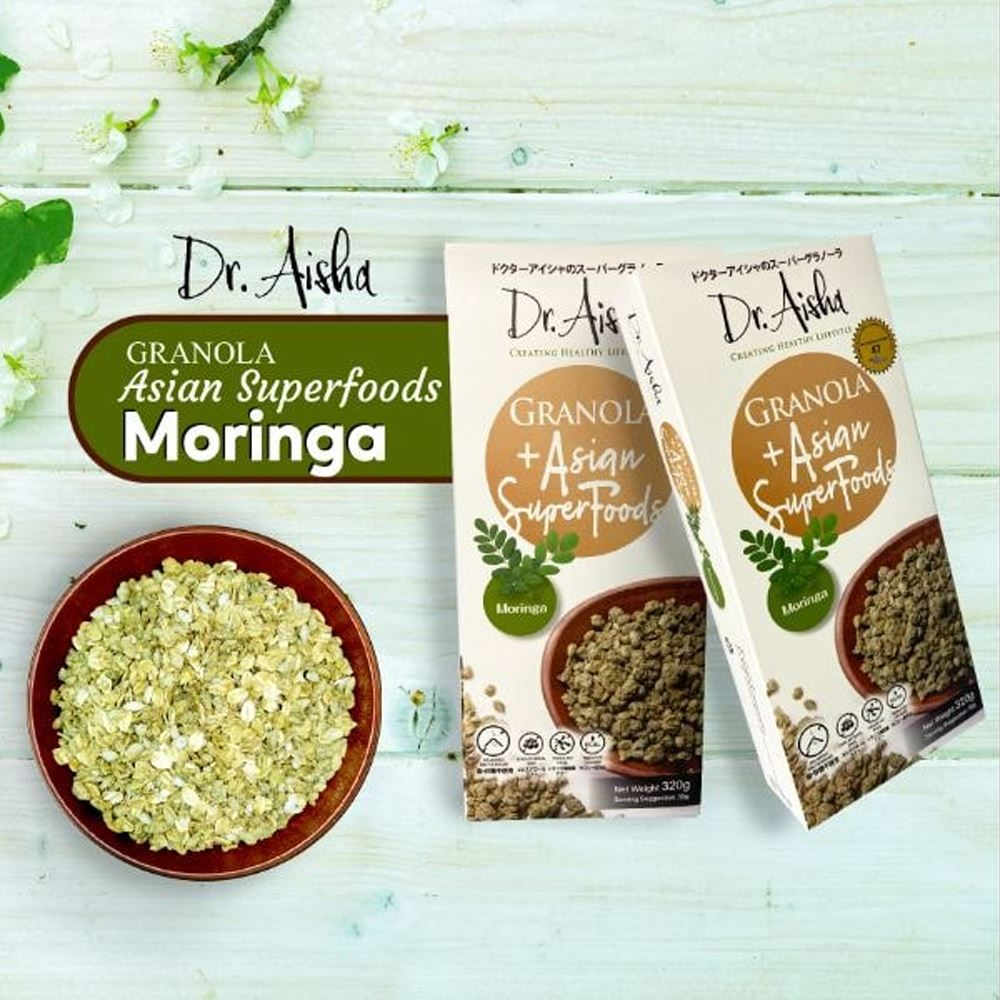 Dr Aisha Granola Moringa