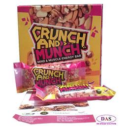 Crunch & Munch Mind & Muscle Energy Bar (35gram X 6 Bars)
