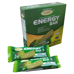 DASTO Energy Bar Matcha (35gram x 6 bars)