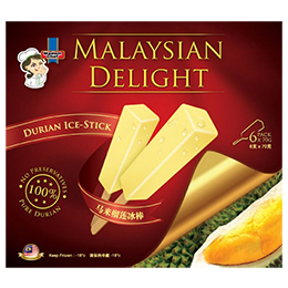 Malaysian Delight Durian Ice-Stick (6 pack x 70g)