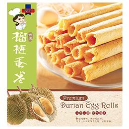 Premium Durian Egg Rolls (120g / pack)