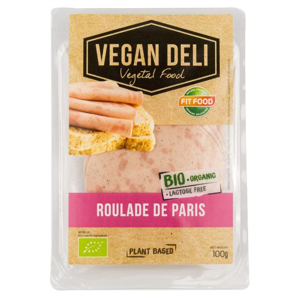 Roulade de Paris Slices