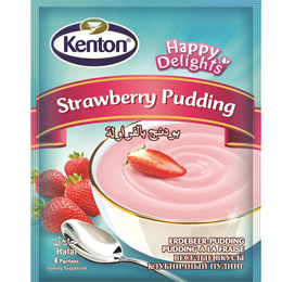 Kenton Tastes Happy Strawberry Pudding