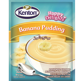 Kenton Happy Banana Pudding Tastes