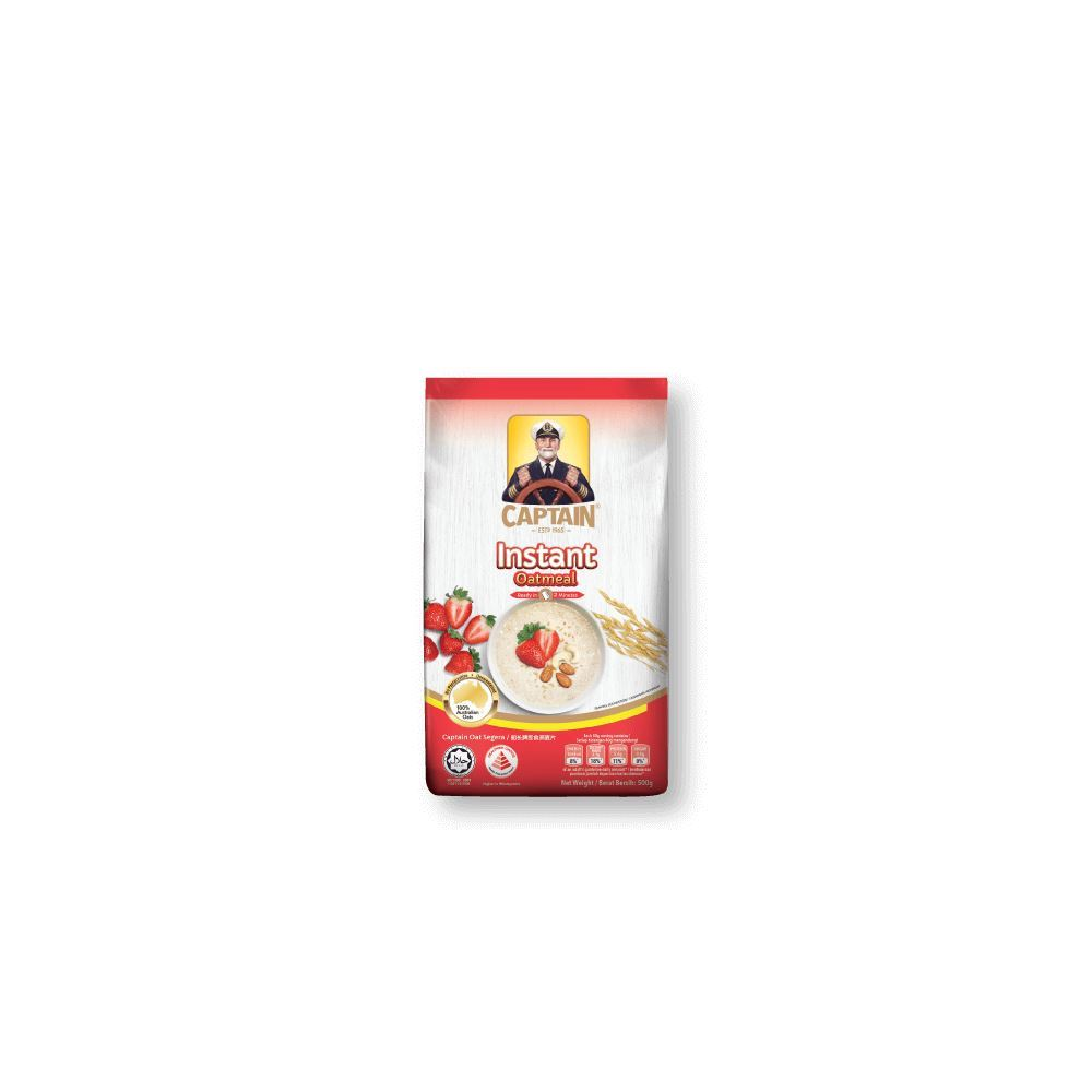 CAPTAIN OATS Instant Oatmeal (Refill Pack)