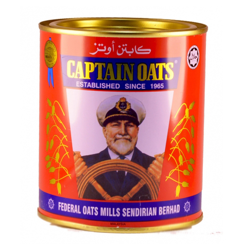 CAPTAIN OATS Oatmeal Cans (Middle East Market)