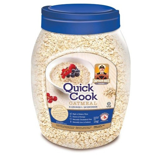 CAPTAIN OATS Quick Cook Oatmeal 1.2kg