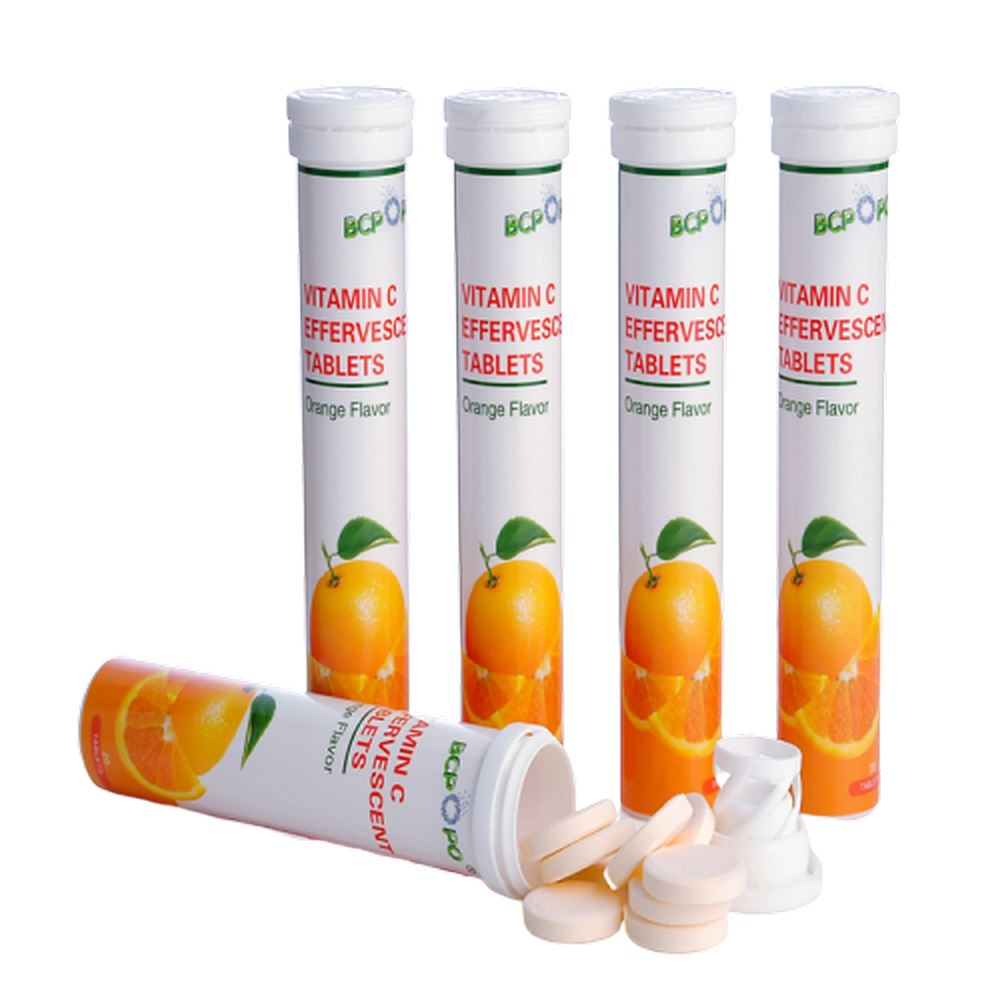 Vitamin C + Glutathione +Collagen Effervescent Tablet perfect white skin whitening fizzy tablet