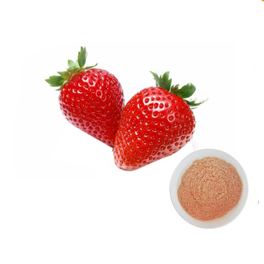 Strawberry flavour for instant powder drinks