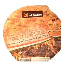 Pizza Surgelee Dinda Et Champignons 391s