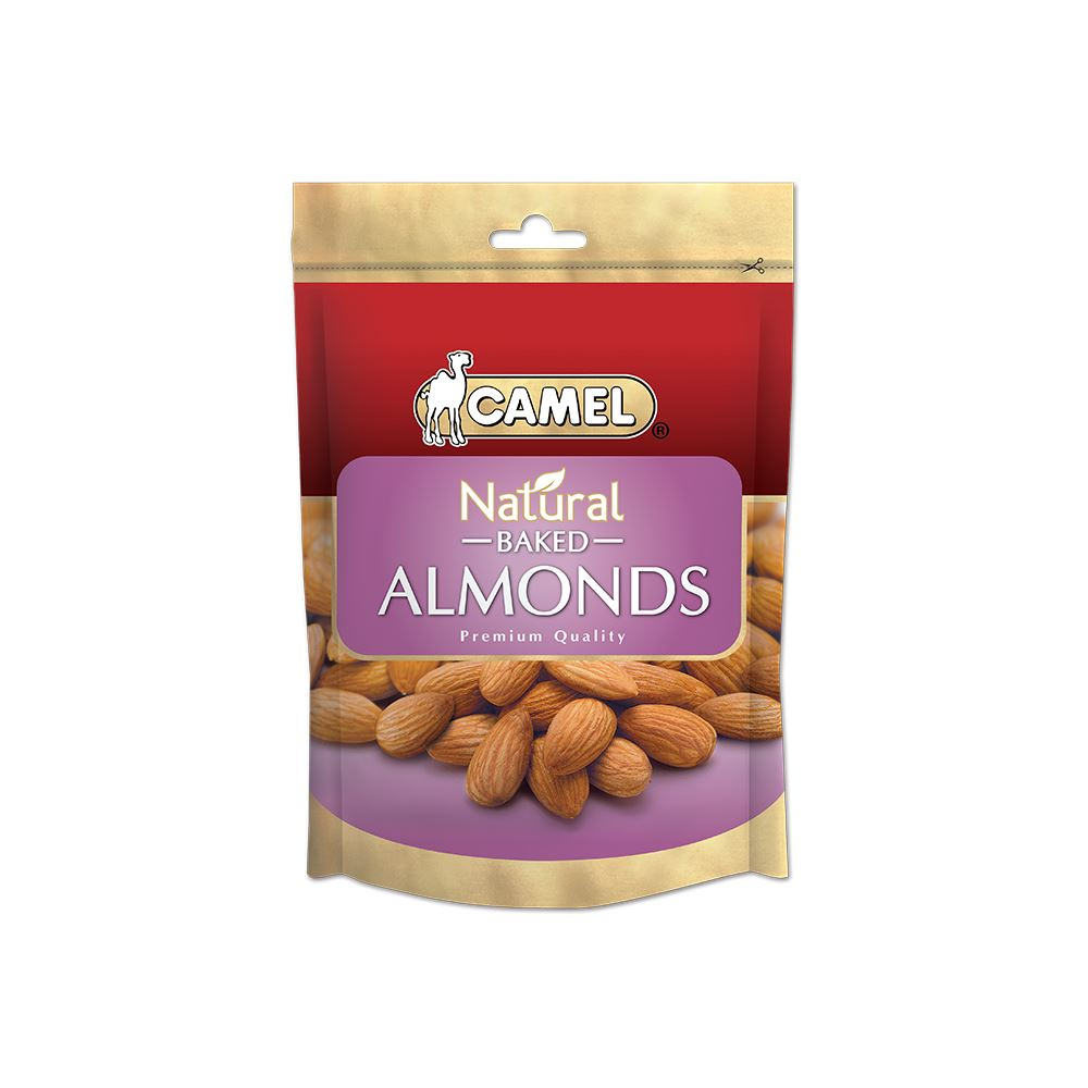 Natural Baked Almonds 400g