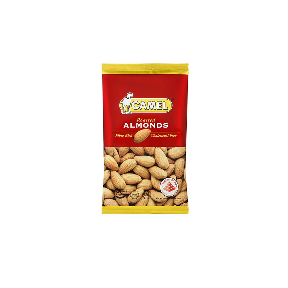 Natural Almonds Baked 40g