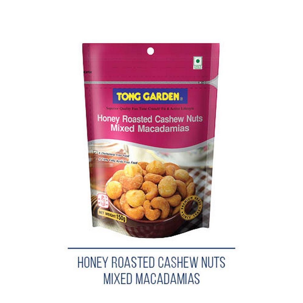 Honey Roasted Cashew Nuts Mixed Macadamias