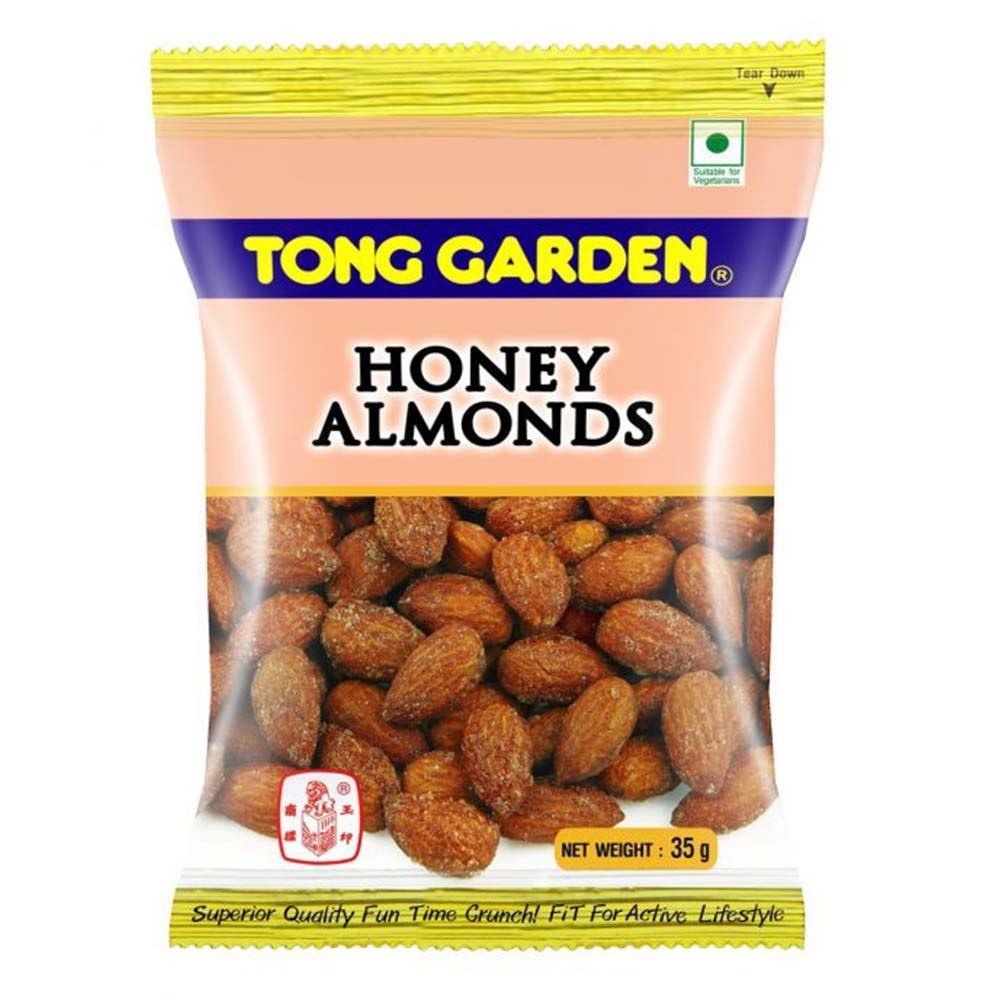 Tong Garden Honey Almonds 35g