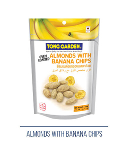 Almonds With Banana Chips