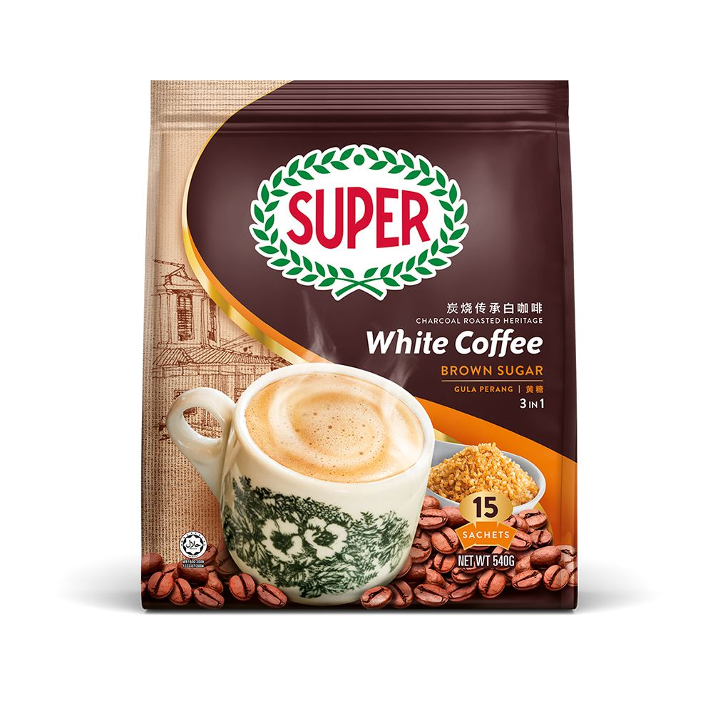 White Coffee 3in1 Brown Sugar
