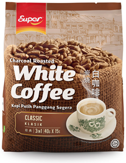 Charcoal Roasted White Coffee