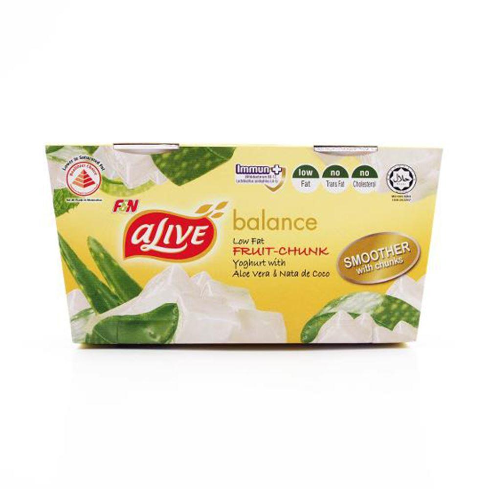 Yoghurt Low Aloe Vera & Nata De Coco (Chilled)