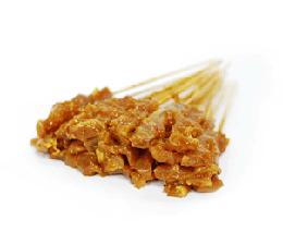 Satay Chicken & Chilled Gravy (Raw) (50sticks)