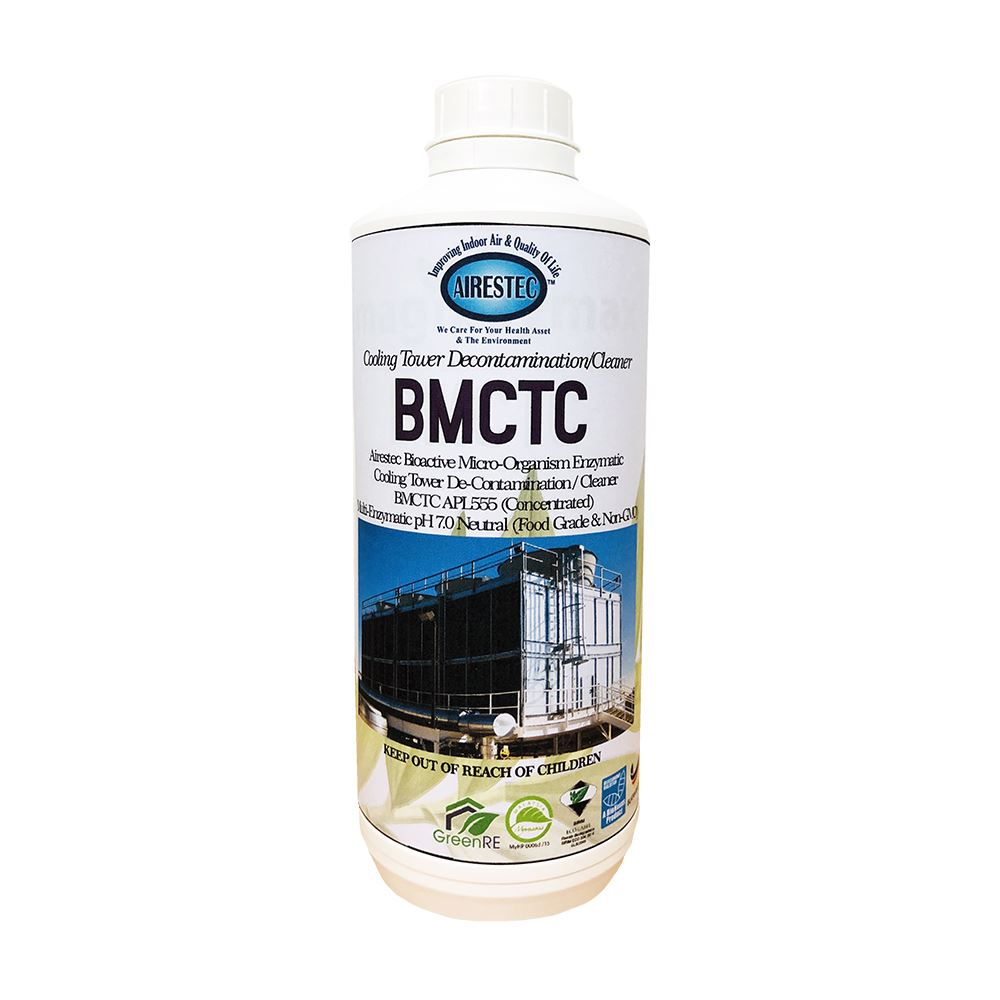 Bioactive Microorganism Enzymatic Cooling Tower Decontamination Cleaner (BMCTC)