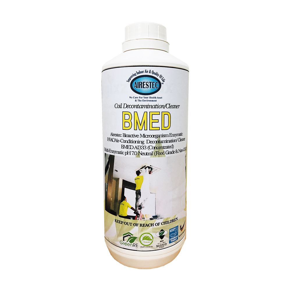 Bioactive Microorganism Enzymatic Coil Decontamination Cleaner (BMED)