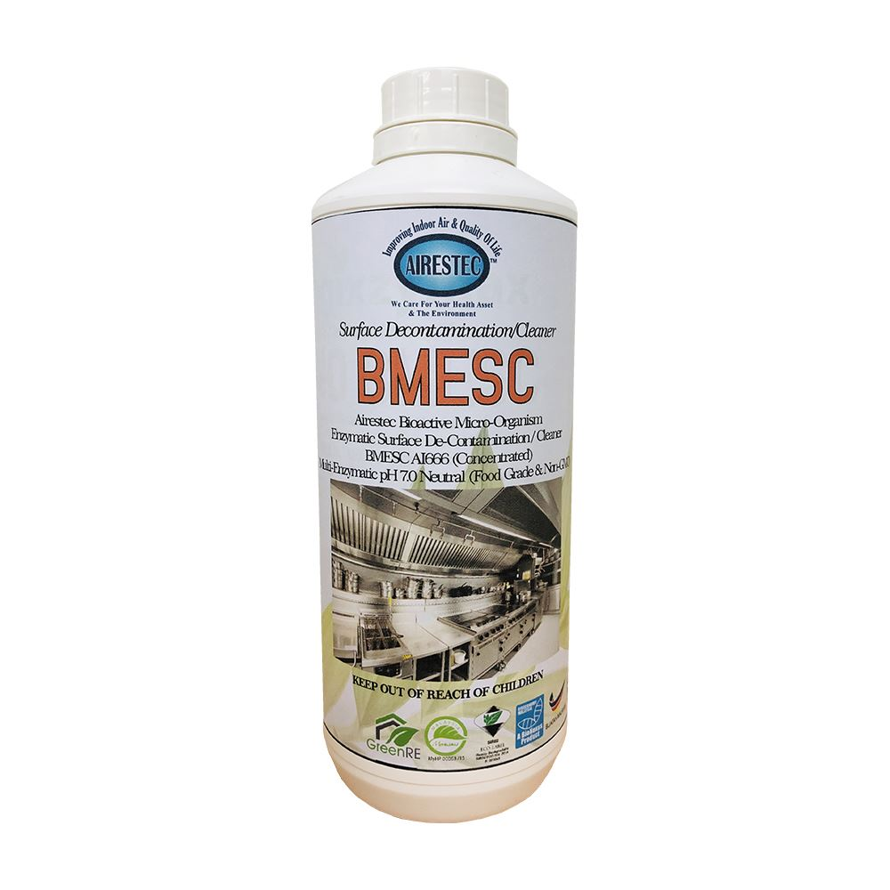 Bioactive Microorganism Enzymatic Surface Decontamination Cleaner (BMESC)