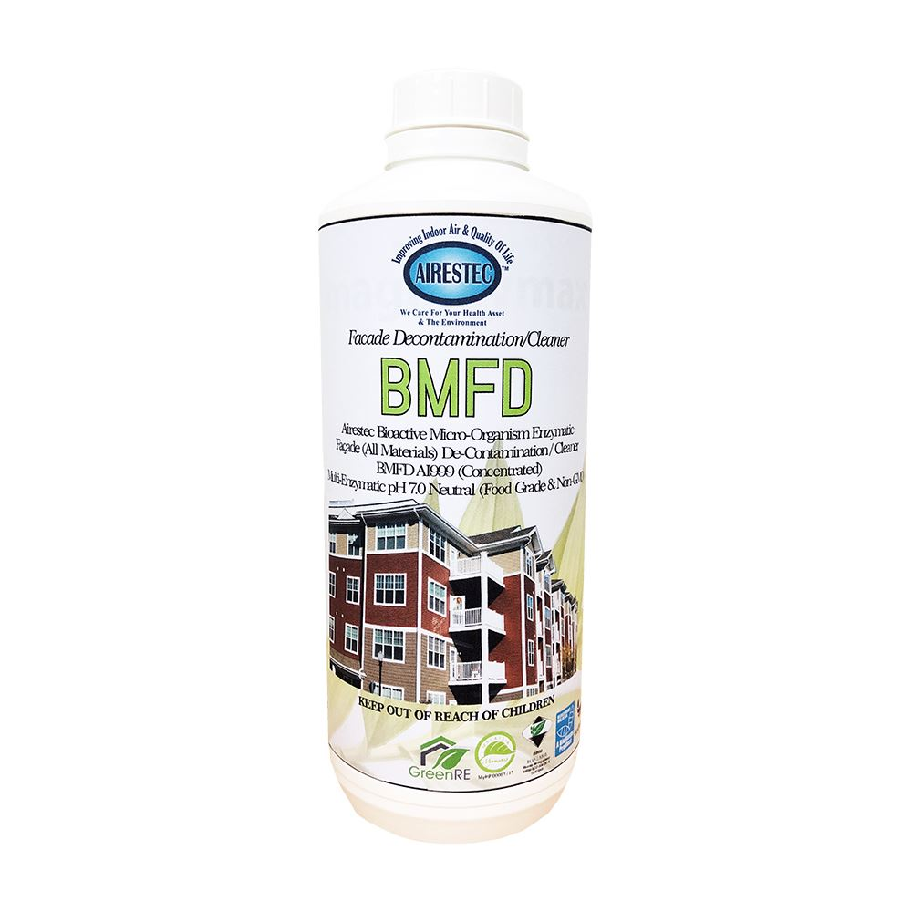 Bioactive Microorganism Facade Decontamination Cleaner (BMFD)